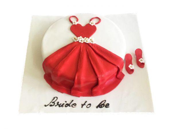 Bride to be Cake - Mehndi Theme Customizable
