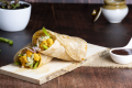 Chicken Tikka Regular Roll | Potato Wedges | Choco Lava | Coke Combo
