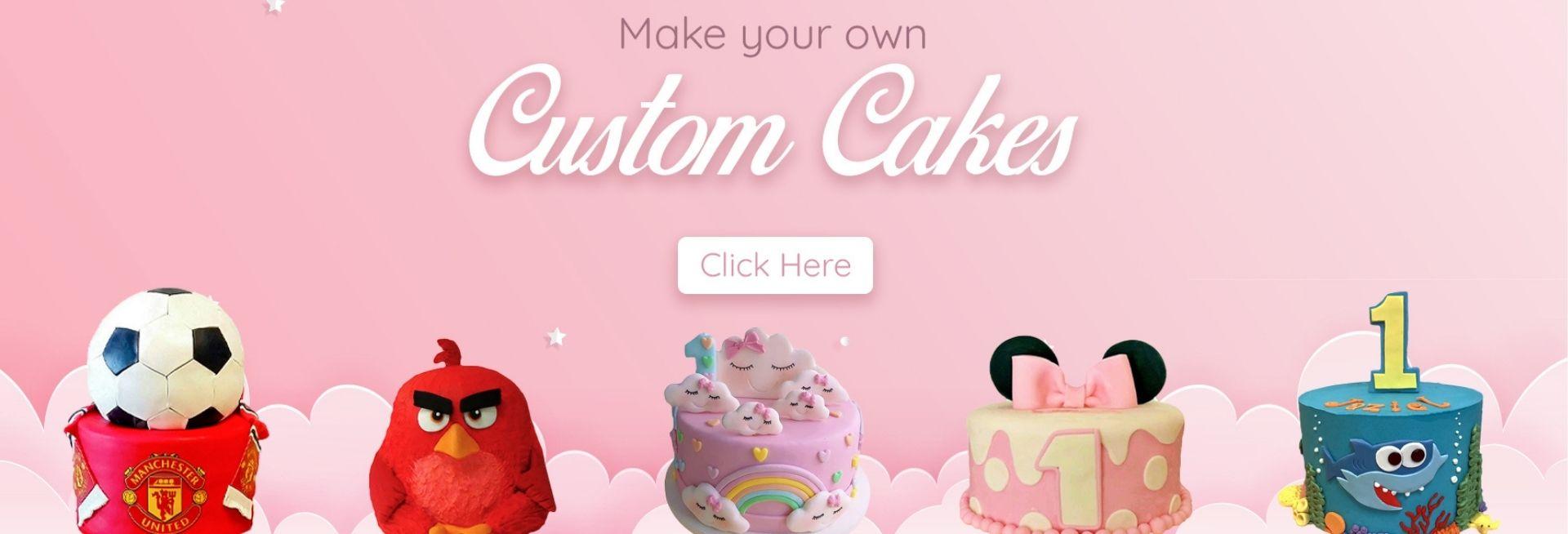 Custom Cake Banner 1