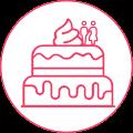 Custom Cake Icon
