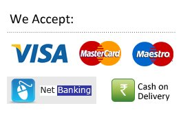 Visa Card, Debit Card, Credit Card, Netbanking, UPI, PayTM, Google Pay, Phonepe available at Warmoven